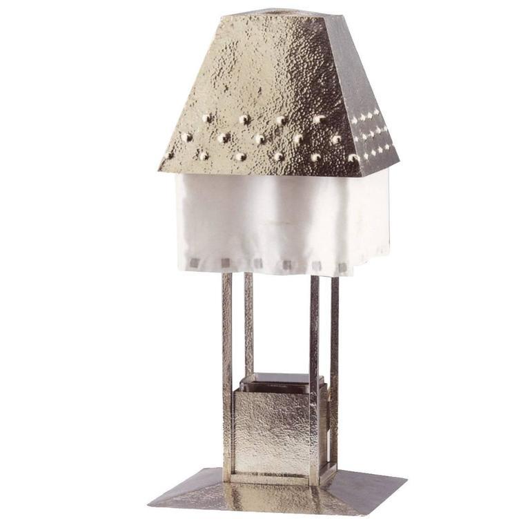 Tischlampe von Josef Hoffmann & Wiener Werkstätte, Frühes 20. Jahrhundert, Neuauflage 1