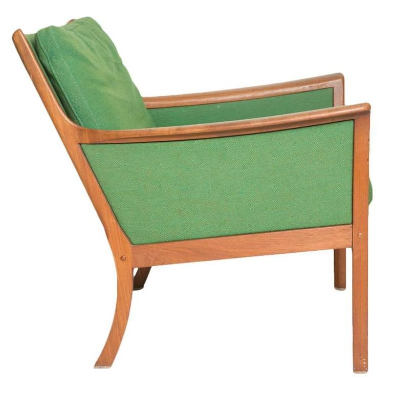 Ole Wanscher Japan Lounge Chair in Rosewood