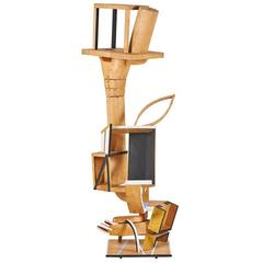 """Radical Abstract"" Wood Sculpture by Katsuhisha Sakai"