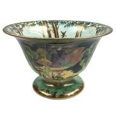 Wedgwood Art Deco Porcelain Fairyland Lustre Center Bowl