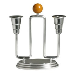 Art Deco Candelabra by Wellner