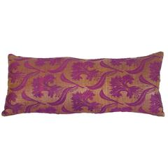 Pillow Made Out of a Late 19th Century Ottoman Turkish Textile