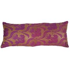 Pillow Made Out of a Late19th Century Ottoman Turkish Textile