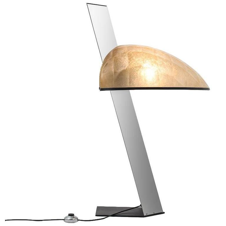 Impressive Table Lamp by G. Grignani for Luci, Italy
