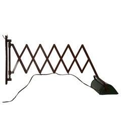 Adjustable Scissor Wall Lamp