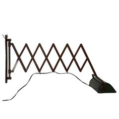 Adjustable Scissor Wall Lamp