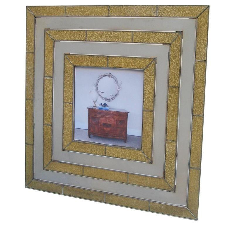 Gabriella Crespi Designed Modernist Picture Frame