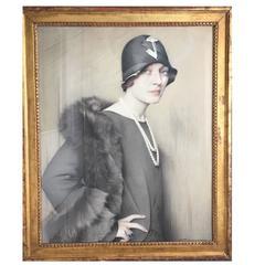 Portrait of Mona von Bismarck by Savely Abramovich Sorine