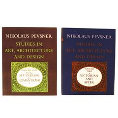 Studies in Art, Architecture and Design, 2 Volumes, 1st Edition