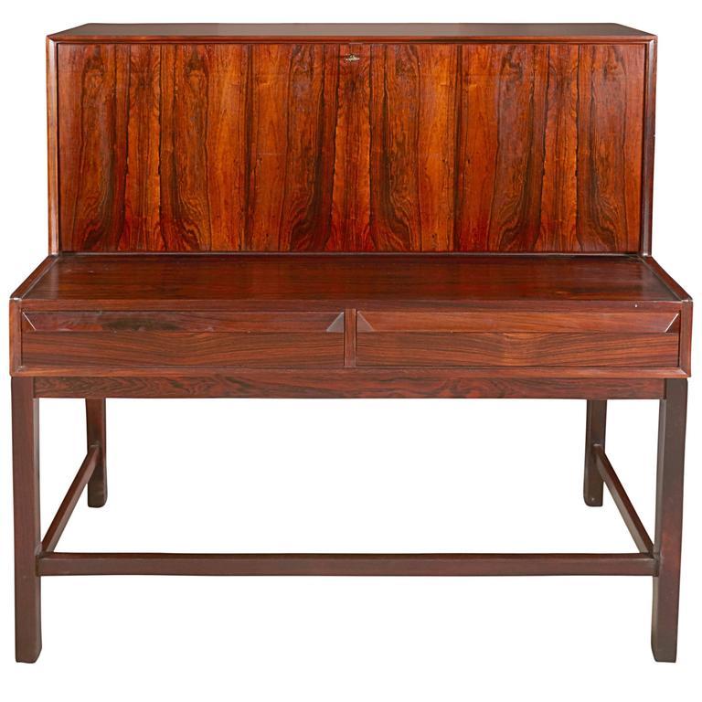 Torbjorn Afdal Rosewood Secretary Desk 1