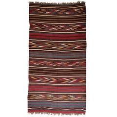 Antique Shahsavan Kilim Rug