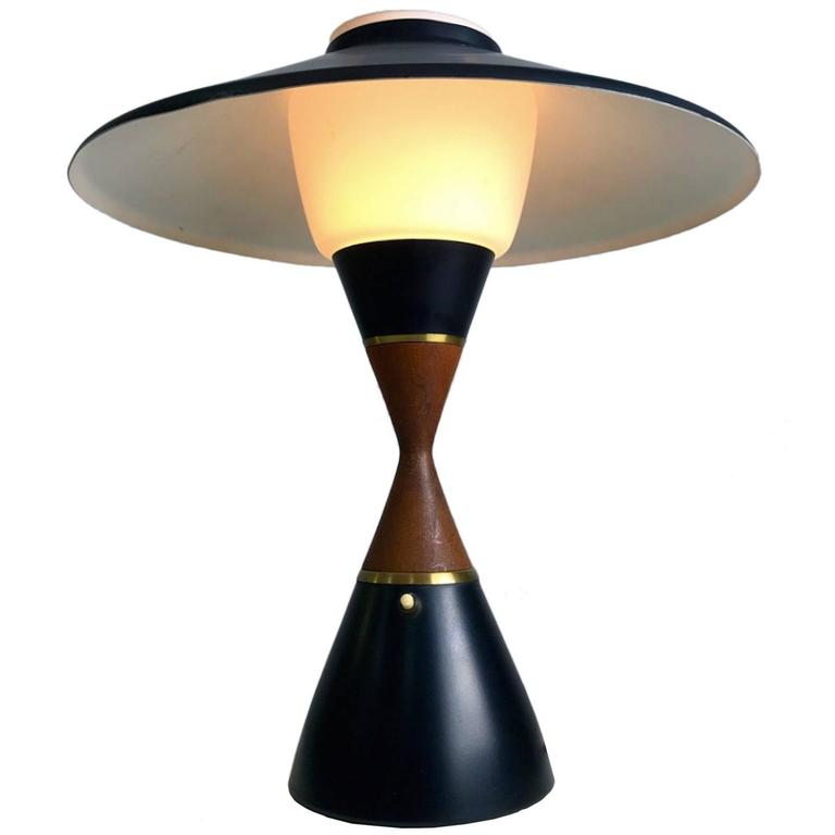 Danish Table Lamp by Svend Aage Holm Sorensen, 1950s