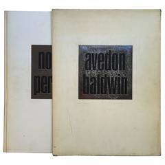 Richard Avedon and James Baldwin, Nothing Personal Book