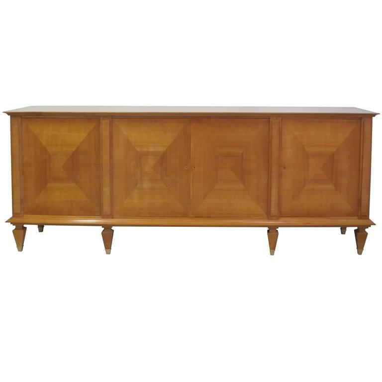 Important Modern Neoclassical Sideboard by André Arbus, France, 1949 For Sale