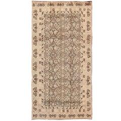 Antique Turkmenistan Khotan Carpet