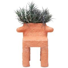 Terracotta Plant Chair by Chris Wolston