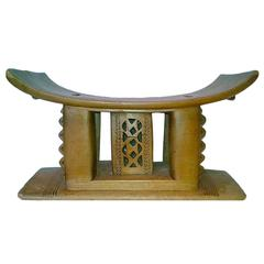 Ashanti Stool or End Table from Ghana
