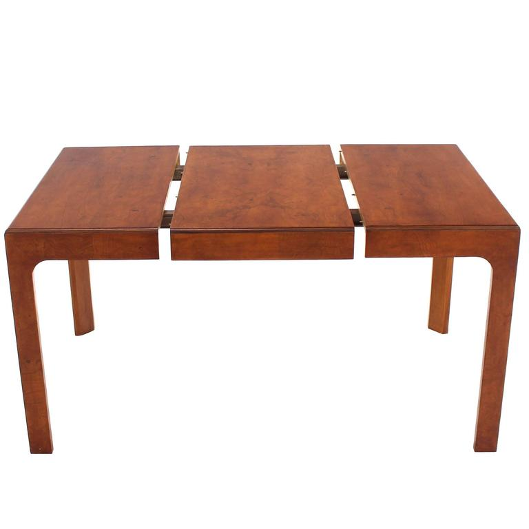 Henredon Square Dining Table With One Extension Board At 1stdibs
