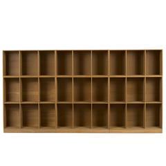 Mogens Koch Bookcases in Oak by Rud Rasmussen