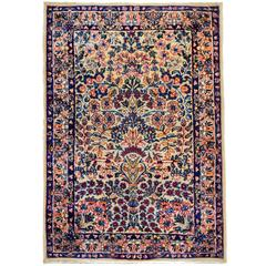 Exquisite early 20th Century Lavar Kirman Rug