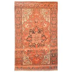 Unique Early 20th Century Sarouk Farahan Rug
