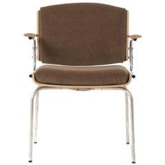Chrome Legged Occasional Armchair