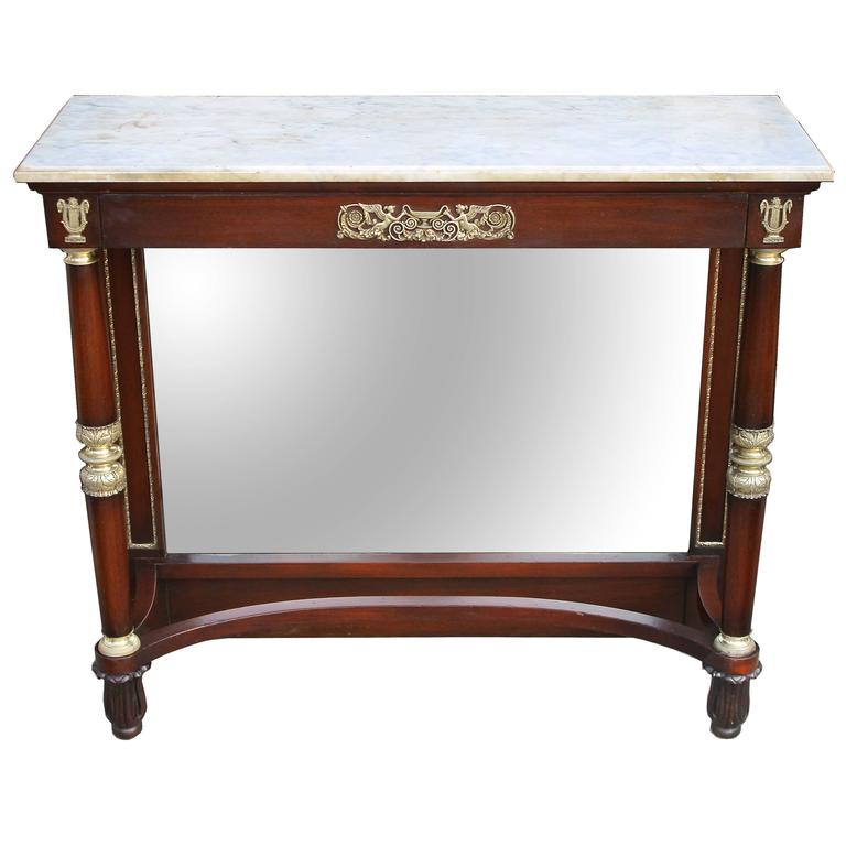 French Restauration Period Pier Table For Sale