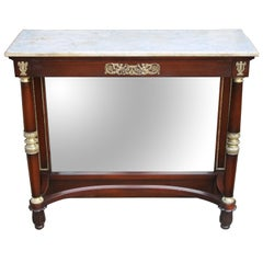 French Restauration Period Pier Table