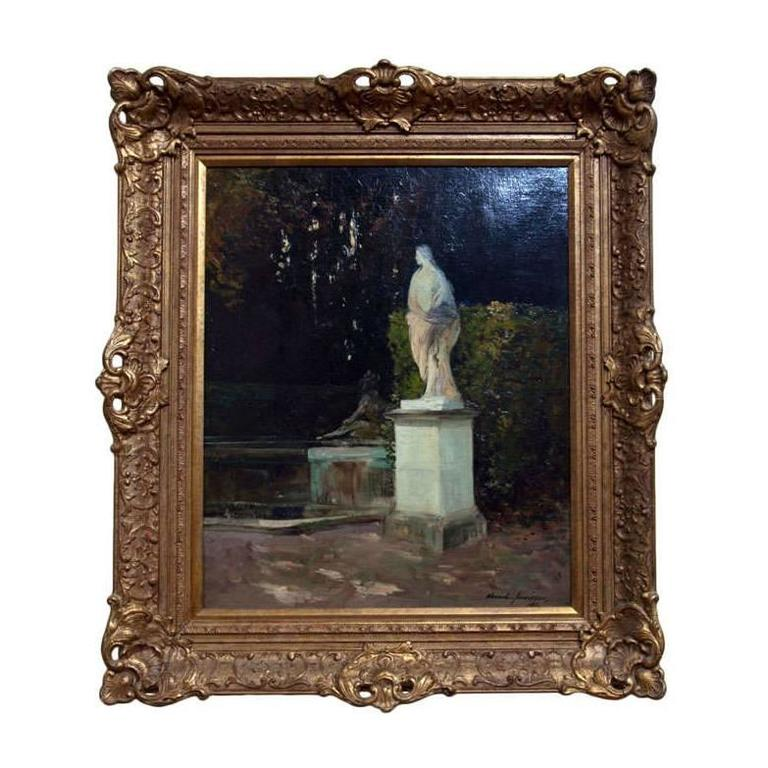 Gardens of Versailles Oil on Canvas by Alexander Jamieson