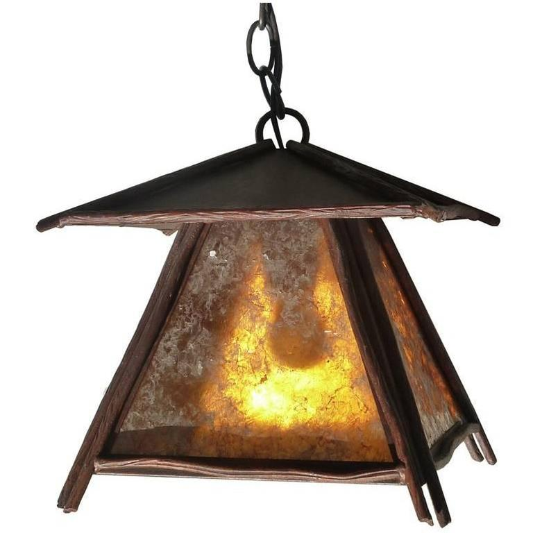 Japanese Hanging Outdoor Pendant Light For Sale At 1stdibs