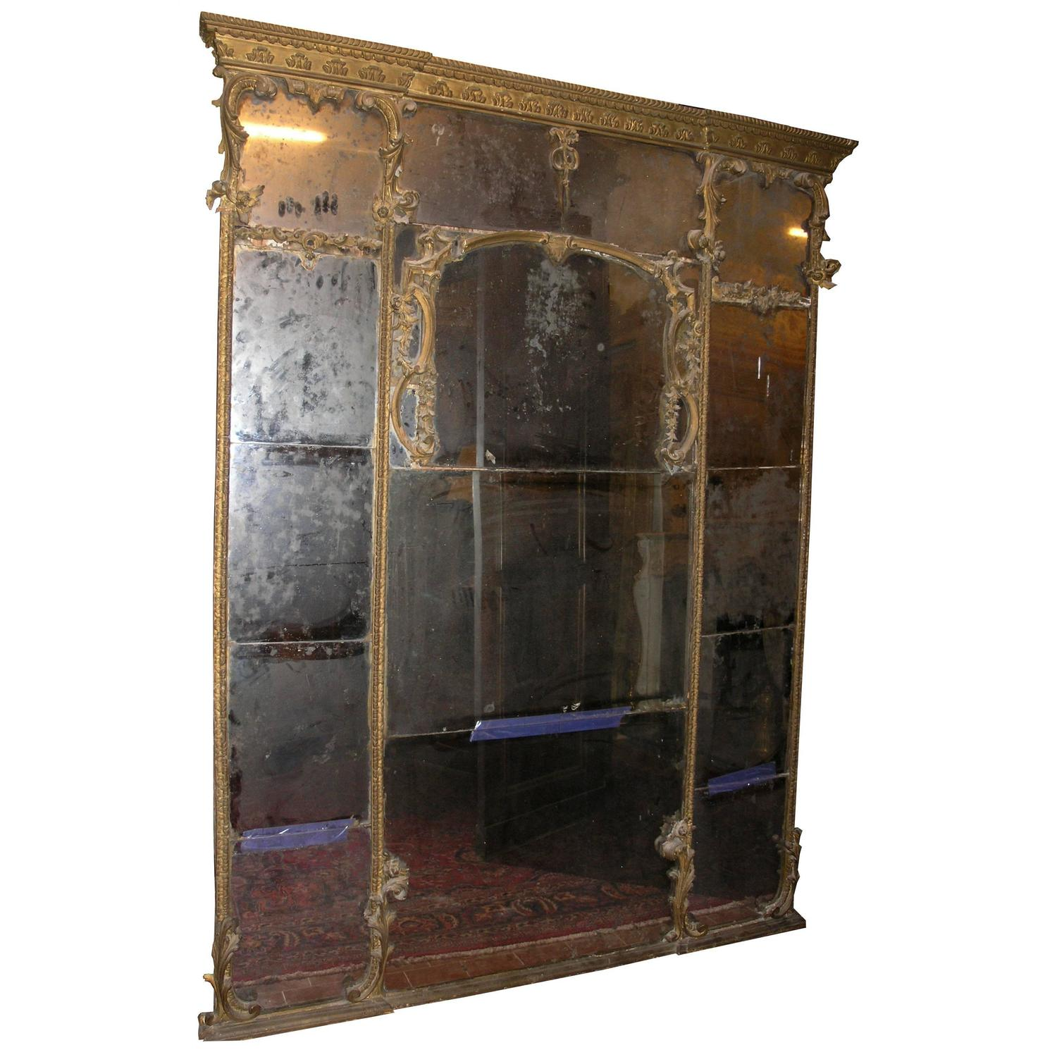 Antique mirror for sale at 1stdibs for Floor length mirror for sale