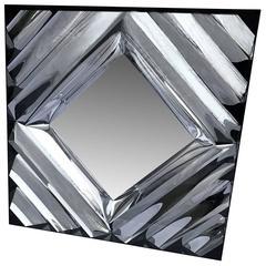 Square Mid-Century Modern Wall Mirror
