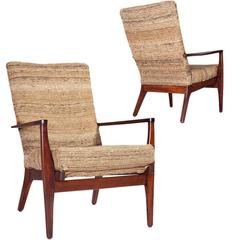 Pair of Parker Knoll Chairs, RK.973-4, circa 1960