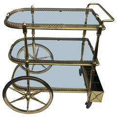 French Mid-Century Bar Cart