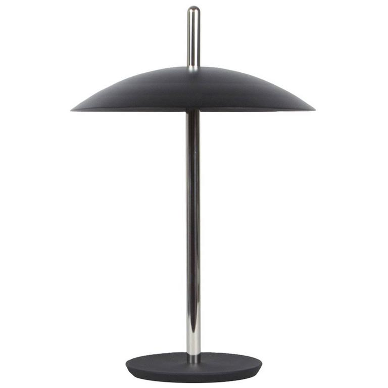 Customizable Signal Table Lamp From Souda Black Nickel Made To Order For