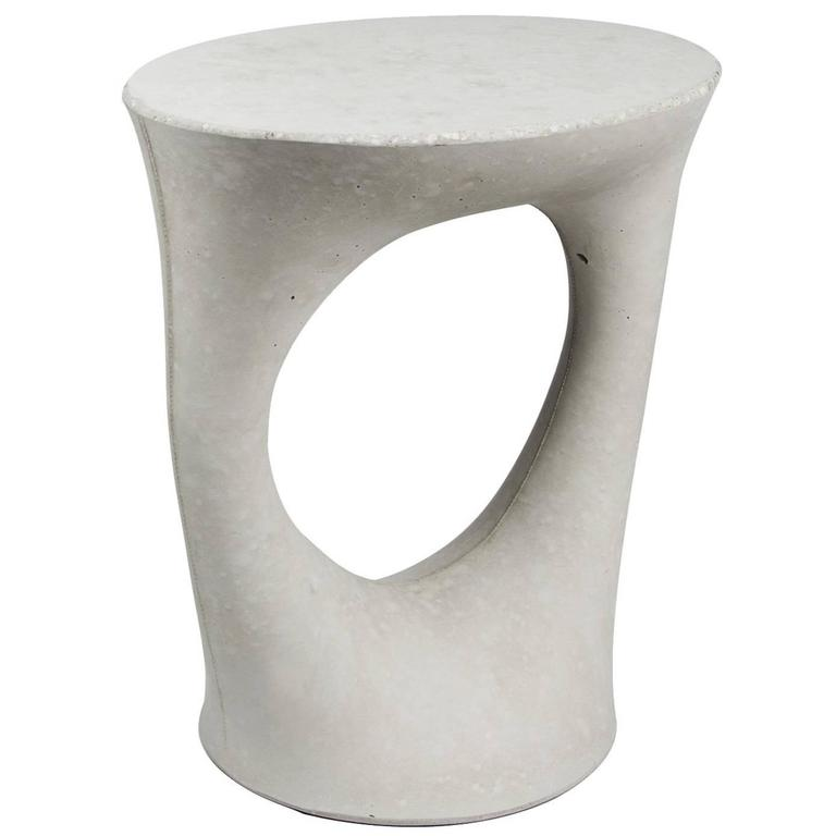 Grey Short Kreten Side Table From Souda, Made To Order For Sale