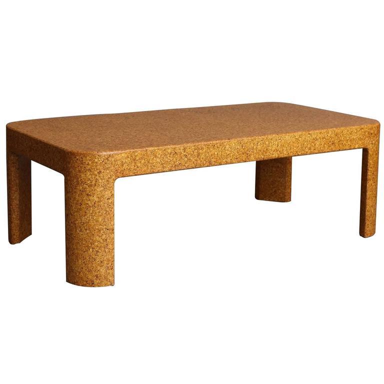 Samuel Marx Cork Coffee Table At 1stdibs