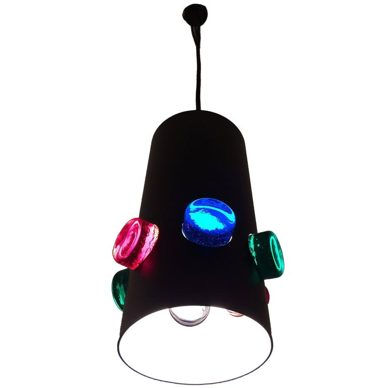 Raak colored glass pendant lamp for sale at 1stdibs raak colored glass pendant lamp for sale aloadofball Images