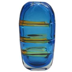 Art Glass Vase by Barbini