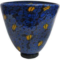 Vittorio Ferro 'Murrina' Glass Vase