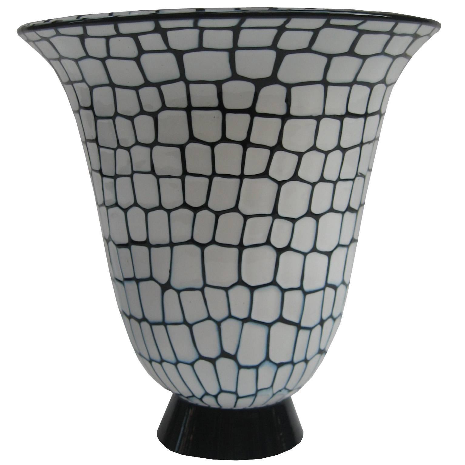 """""""Neomurrino"""" Italian Glass Vase by Barovier & Toso"""
