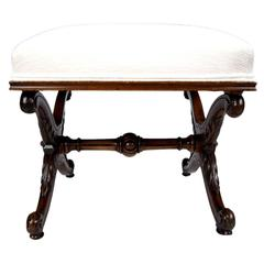 19th Century French Louis XV Style Stool
