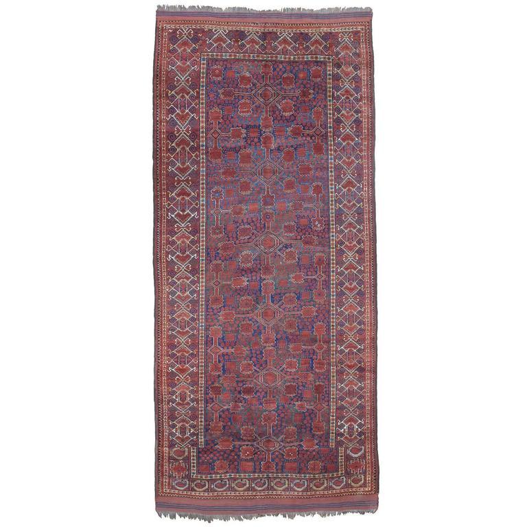 Antique Beshir Turkmen Carpet