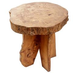 Wooden Live Edge Table