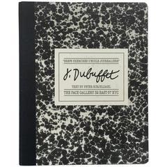 Jean Dubuffet – Brefs Exercises D'École Journalière 1980 Pace Gallery