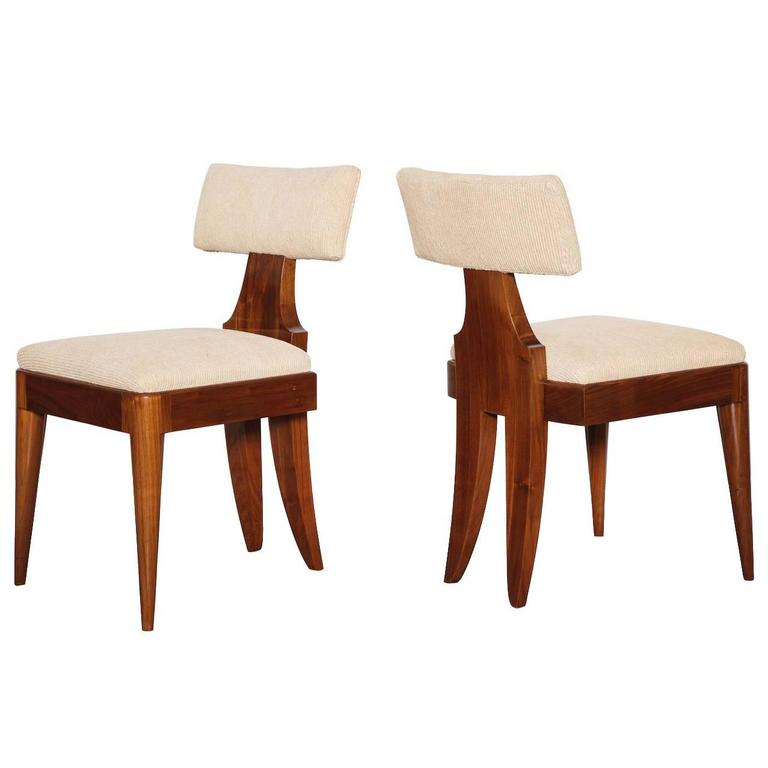 Andrew Szoeke Side Chairs For Sale