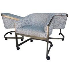 Set of Three Vintage Modern Design Institute of America Bucket Chairs