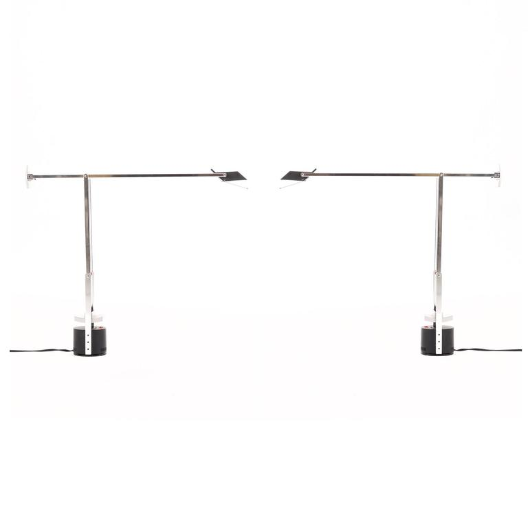 Richard Sapper Pair Of Tizio Desk Lamps For Artemide For Sale At 1stdibs