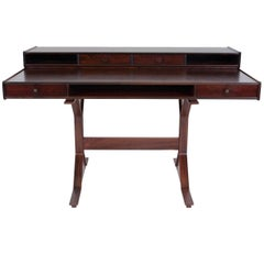 Gianfranco Frattini Rosewood Writing Desk