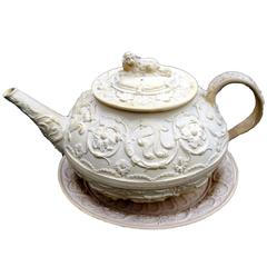 Rare Wedgwood Teapot, Cover and Stand